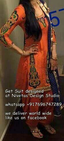 beautiful indian outfits @nivetas  https://www.facebook.com/punjabisboutique