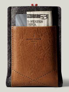 Hard Graft iphone/credit card holder