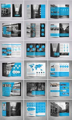15 Folders modernos e criativos – – Yearbook jOURney References – layout Template Brochure, Design Brochure, Booklet Design, Brochure Layout, Graphic Design Layouts, Branding Design, Report Template, Creative Brochure, Indesign Templates