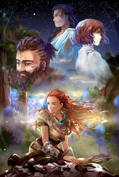 Horizon Zero Dawn fanart