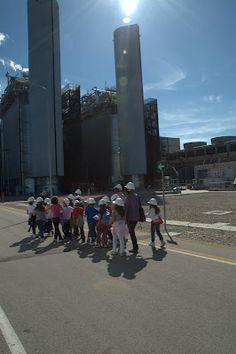 Gli alunni della 3^ elementare di Guglionesi visitano la centrale a ciclo combinato Sorgenia di Termoli