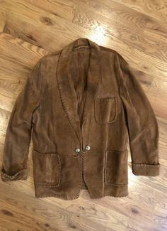60d13fcaab Polo Country Vintage Ralph Lauren Suede Jacket Precursor To RRL Double RL