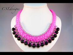 Fashion statement collar necklace - YouTube