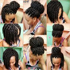 Crochet Mamba Twist