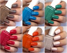 The Happy Sloths: Essie Summer 2014 Nail Polish Collection: Review and Swatches