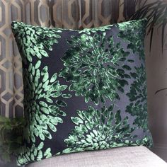 These are easily my favorite pillows I've made to date (and my puppy's too) The fabric is very high end, not the canvasy stuff you find for $25 a pillow. In person these pillows are deep emerald green, however the color seems to change depending on the lighting of the space.  I have taken time to ensure these pillow covers are made to last. I have sewn a zig zag stitch around the inside zipper edges to prevent fraying and make it easy to insert and remove a pillow form.