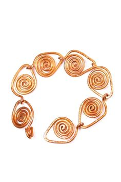 This is a beautiful, leaf themed, copper bracelet. Hand-made by Anne of DD Metalworks in Cleveland, OH.    Measures about 7.25 inches long.   Bracelet Copper Leaf by DD Metalworks. Accessories - Jewelry - Bracelets Cleveland, Ohio