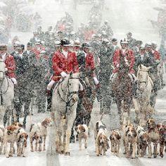 Christmas Parade in Middleburg, Virginia