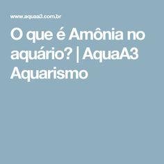 O que é Amônia no aquário? | AquaA3 Aquarismo
