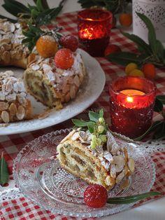 Ciambella di frutta secca e canditi