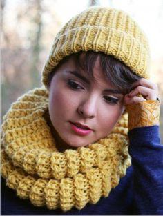 Bonnets et snoods: modèles gratuits