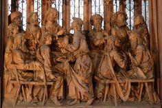 forma es vacío, vacío es forma: Tilman Riemenschneider - talla, gótico, retablo