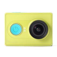 Y, Original XiaoMi Yi Ambarella A7LS BSI CMOS WIFI Sports Action Camera