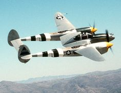 The Lockheed P-38 Lightning was a World War II American fighter aircraft built by Lockheed. Developed to a United States Army Air Corps requirement