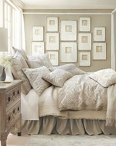Neutral Bedroom by DolceDanielle, via Flickr
