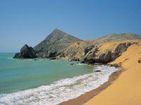 Las playas de dunas son las encargadas de proteger la reserva de arena y las áreas terrestres, como ocurre en la región de la Alta Guajira.