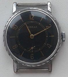Rare Vintage Russian USSR Pobeda mecanical 2602 watch #Pobeda #Casual