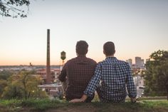 engagement session by The Girl Tyler photography / Richmond, VA / gay couple