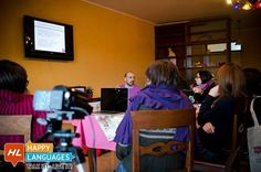 """Two Years with Happy Languages: December 2013 our first Italian Teacher Workshop in Morano Calabro """"Nessun'altra occasione persa""""."""