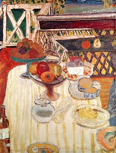 The White Tablecloth, 1924 (oil on canvas), Pierre Bonnard