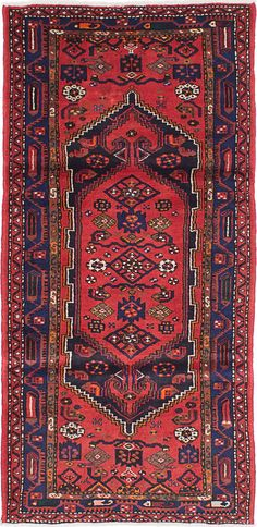 """Hand-knotted carpet 3'4"""" x 7'1"""" Persian Wool Rug...DISCOUNTED PRICE! #Unbranded #TraditionalPersianOriental"""