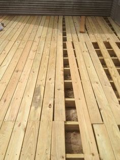 From Dirt to Deck - How to Build a Ground-Level Deck | The Wolven House Project