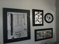:: martin family living ::: DIY jewelry holder