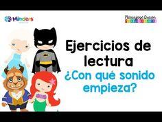 Ejercicios para aprender a leer - Conciencia fonológica - Psicología Infantil - YouTube
