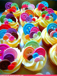 bottons cupcake