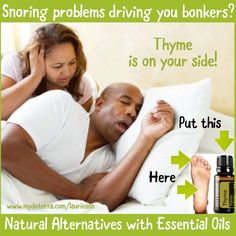 Essential Oil Tip   Life Hack   Snoring Remedy
