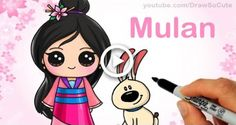 Excellent Learn how to Draw Chibi Mulan, step-by-step, Cute Disney Princess - Elegant Learn how to Draw Chibi Mulan,. Cute Disney Drawings, Kawaii Drawings, Cartoon Drawings, Easy Drawings, Drawing Disney, Pocahontas Drawing, Cartoon Art, Disney Princess Toys, Disney Princess Drawings