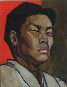 Tamara de Lempicka 1921 The Chinese Man.  Musée des Beaux-Arts, Havre.