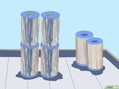 How to Clean a Cartridge Type Swimming Pool Filter. Swimming pools can be a lot of fun, especially when the weather is warm. However, pools with filters do require some maintenance. For those who want a pool but also want to save some. Swimming Pool Filters, Small Swimming Pools, Swimming Pools Backyard, Pool Landscaping, Cleaning Above Ground Pool, Pool Cleaning Tips, Cleaning Hacks, Cleaning Products, Homemade Pools