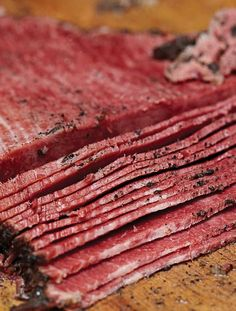 Homemade Pastrami Recipe (This homemade pastrami recipe is easy and impressive. Here's how to make it at home.)