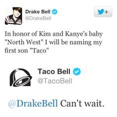 Drake Bell + Taco Bell