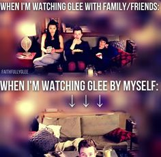 BAHAHA. No one wants to watch Glee with me anymore cause I flail and hurt people so badly with my excessive slapping and screaming in their ears.