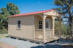 A Graceland Portable Building® Cabin was delivered to Alto, New Mexico. Contact your local representative today! Shed Cabin, Tiny Houses For Sale, Cabins And Cottages, Graceland, Outdoor Structures, Buildings, Portable Building, Wedding Planning, Mexico