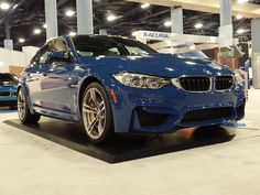 2015 BMW M3 Shod In Violet Blue II Individual Color at 2014 Miami Auto Show http://www.automotiveaddicts.com/49179/2015-bmw-m3-shod-in-violet-blue-ii-individual-color-at-2014-miami-auto-show