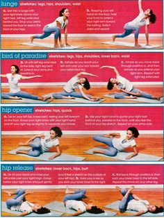 stretches-similar to what my chiro told me to do