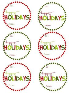 DIY holiday gift tags - love! Click here - http://mommybydaycrafterbynight.blogspot.com/2011/11/free-printable-christmas-gift-tags.html #christmasgift