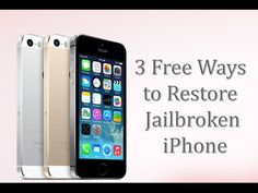Are you having issues with your iPhone after jailbreak? Maybe you jailbreak it and lose important data during the process.  If you have regular backups made by iTunes or iCloud, it's not a big deal. You can restore iPhone after jailbreak via iTunes or iCloud backup.