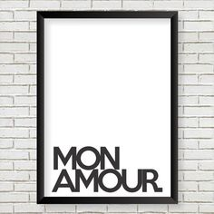 poster Mon Amour