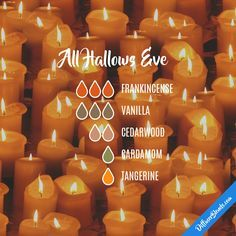 All Hallows Eve — Essential Oil Diffuser Blend