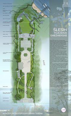 Portfolio | Zagopodarowanie terenu | Ślesin | Wielkopolska - 360° ZIELENI Pracownia Architektury Krajobrazu Magdalena Ancińska