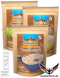 Davina OatMeal Power Frühstück #Energieriegel #Snack #Protein #Sport #Fitness
