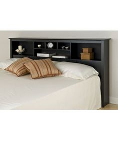 @Overstock - Complete your bedroom decor with this Broadway king size storage headboard Bookcase-style headboard has six compartments, providing ample storage space Piece of furniture can be used with any king-sized bed framehttp://www.overstock.com/Home-Garden/Broadway-Black-King-Size-Storage-Headboard/2967368/product.html?CID=214117 $186.90