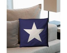 Star (blue), διακοσμητικό μαξιλάρι Php, Throw Pillows, Home, Toss Pillows, Decorative Pillows, Decor Pillows, Scatter Cushions, Haus, Homes