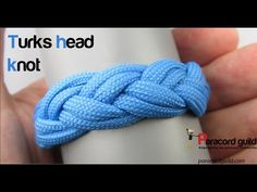 How to tie a turks head knot - Paracord guild