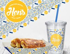 """Check out new work on my @Behance portfolio: """"Hen`s Roll Bread"""" http://be.net/gallery/37006703/Hens-Roll-Bread"""