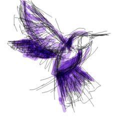 Un oiseau-mouche. Vous connaissez ? C'est un rêve à lui tout seul. Plus de 1200 battements de cœur par minute, le bout de ces ailes font le signe de l'infini.